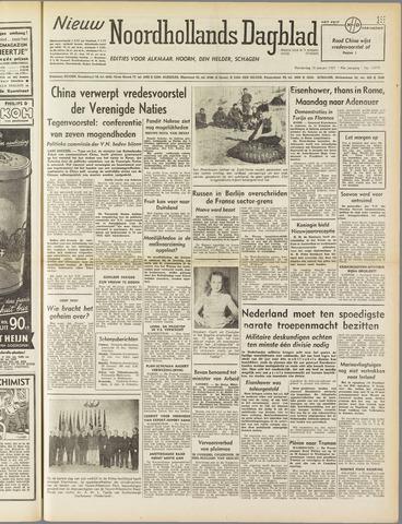 Nieuw Noordhollandsch Dagblad : voor Alkmaar en omgeving 1951-01-18