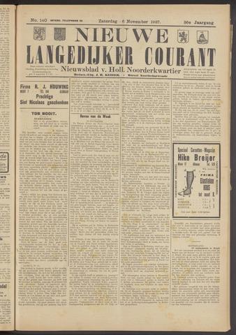 Nieuwe Langedijker Courant 1927-11-26