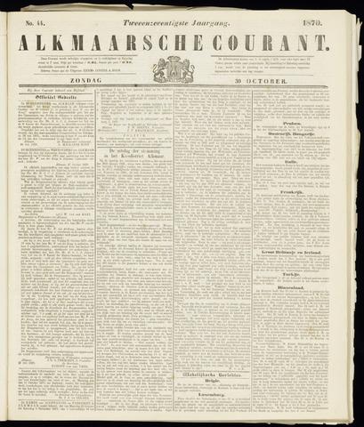 Alkmaarsche Courant 1870-10-30