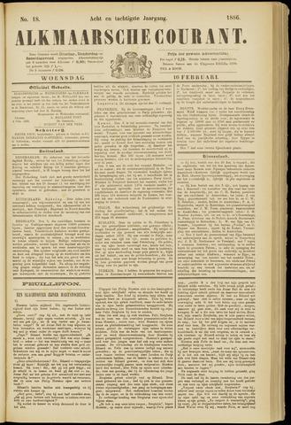 Alkmaarsche Courant 1886-02-10