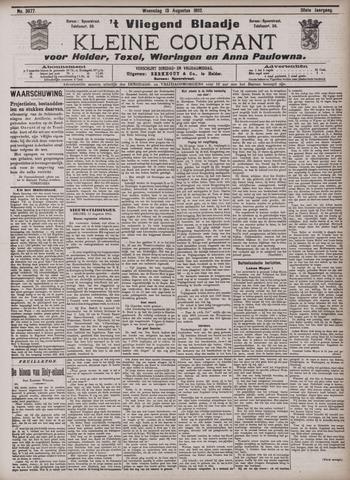 Vliegend blaadje : nieuws- en advertentiebode voor Den Helder 1902-08-13