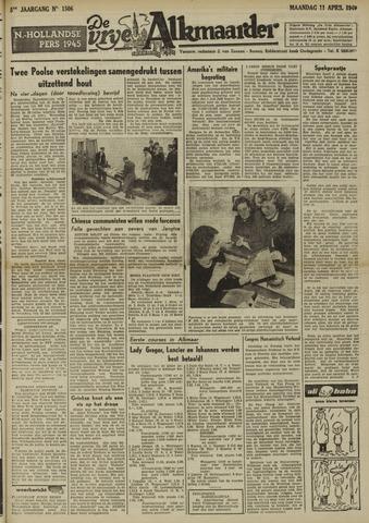 De Vrije Alkmaarder 1949-04-11