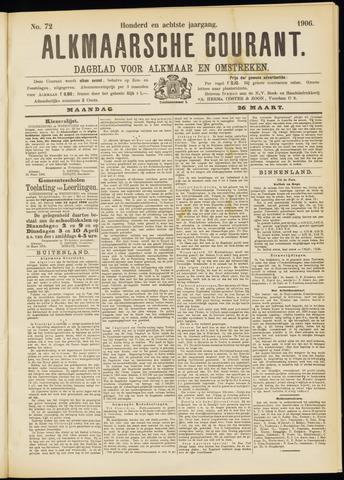 Alkmaarsche Courant 1906-03-26