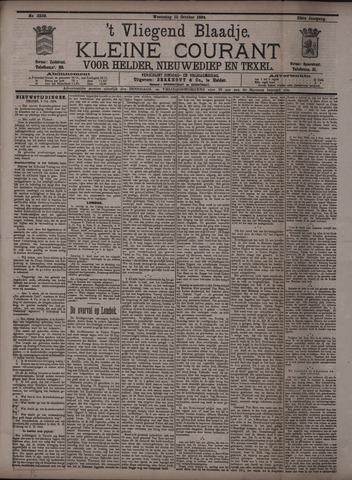 Vliegend blaadje : nieuws- en advertentiebode voor Den Helder 1894-10-10