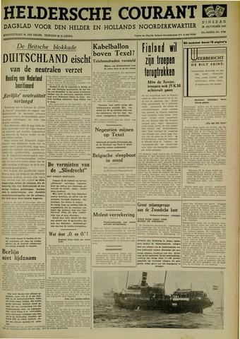 Heldersche Courant 1939-11-28