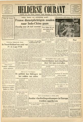 Heldersche Courant 1954-07-08