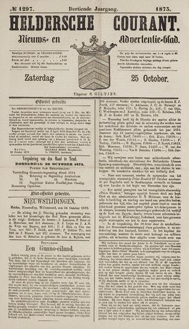 Heldersche Courant 1873-10-25