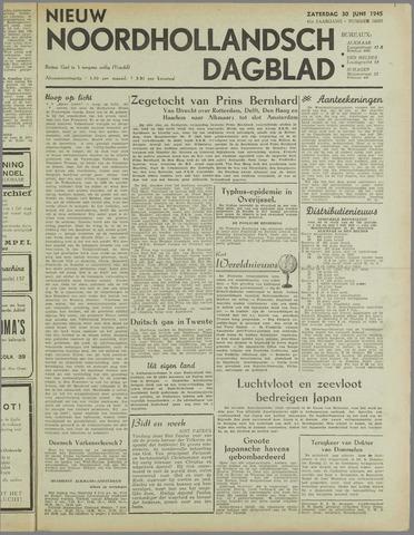 Nieuw Noordhollandsch Dagblad : voor Alkmaar en omgeving 1945-06-30