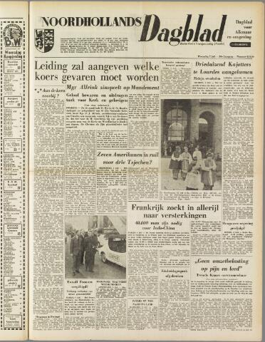 Noordhollands Dagblad : dagblad voor Alkmaar en omgeving 1954-07-07