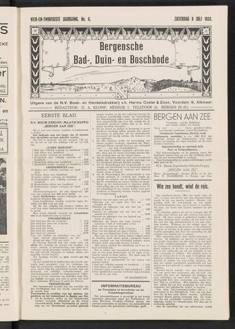 Bergensche bad-, duin- en boschbode 1933-07-08