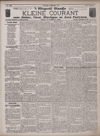 Vliegend blaadje : nieuws- en advertentiebode voor Den Helder 1913-12-06