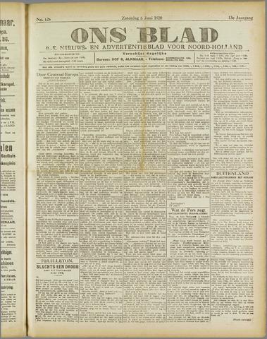 Ons Blad : katholiek nieuwsblad voor N-H 1920-06-05
