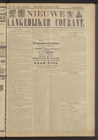 Nieuwe Langedijker Courant 1922-08-24