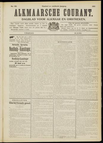 Alkmaarsche Courant 1912-06-14