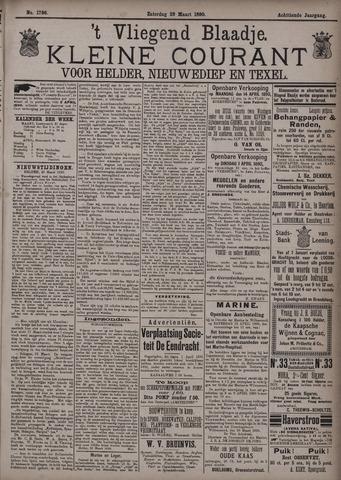Vliegend blaadje : nieuws- en advertentiebode voor Den Helder 1890-03-29