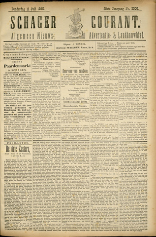 Schager Courant 1895-07-11