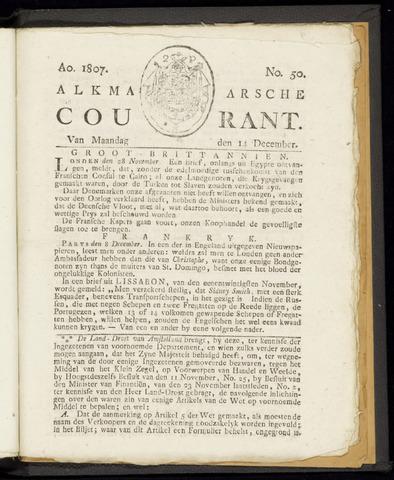 Alkmaarsche Courant 1807-12-14