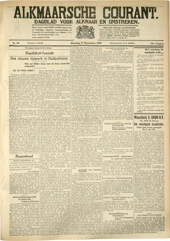 Alkmaarsche Courant 1933-11-14