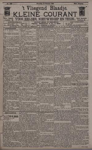 Vliegend blaadje : nieuws- en advertentiebode voor Den Helder 1896-02-19