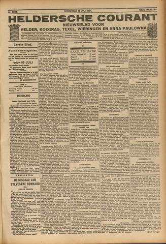 Heldersche Courant 1924-07-10