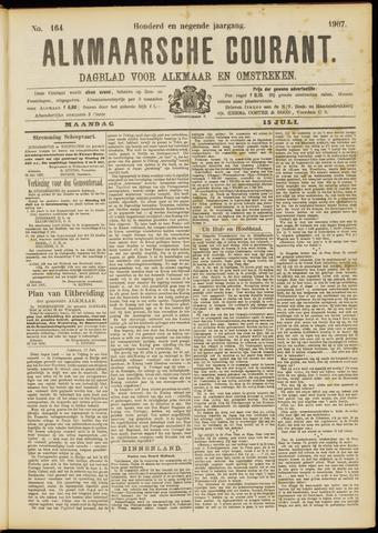 Alkmaarsche Courant 1907-07-15