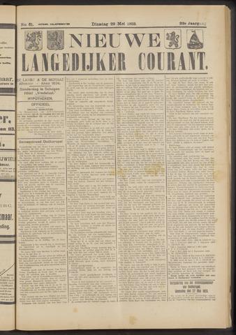 Nieuwe Langedijker Courant 1923-05-29