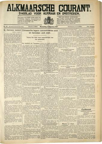 Alkmaarsche Courant 1937-08-04