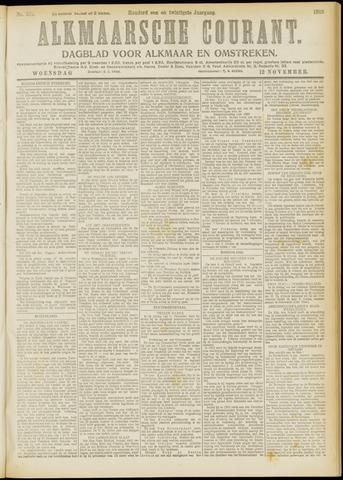 Alkmaarsche Courant 1919-11-12