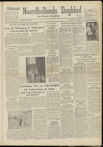 Nieuw Noordhollandsch Dagblad : voor Alkmaar en omgeving 1948-03-31