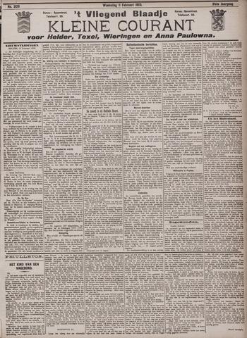 Vliegend blaadje : nieuws- en advertentiebode voor Den Helder 1903-02-11
