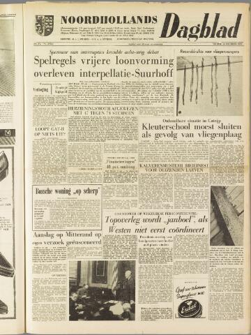 Noordhollands Dagblad : dagblad voor Alkmaar en omgeving 1959-10-23