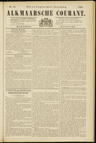 Alkmaarsche Courant 1889-01-30