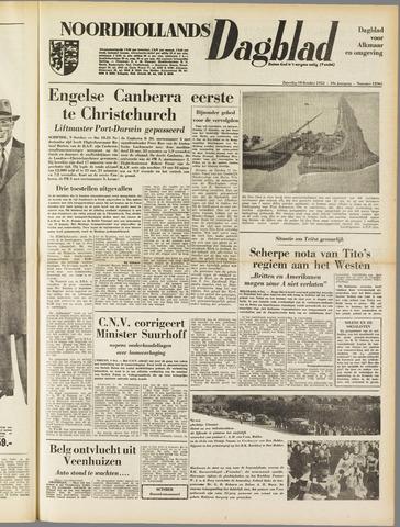 Noordhollands Dagblad : dagblad voor Alkmaar en omgeving 1953-10-10