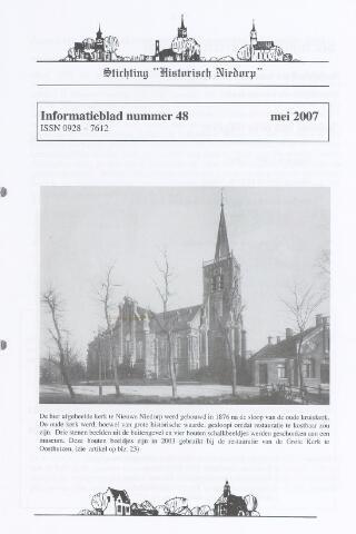 Informatieblad stichting Historisch Niedorp 2007