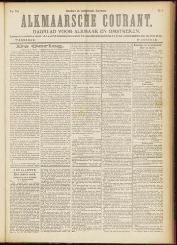 Alkmaarsche Courant 1917-10-10