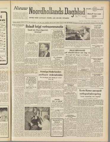 Nieuw Noordhollandsch Dagblad : voor Alkmaar en omgeving 1950-02-08