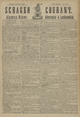 Schager Courant 1911-02-28