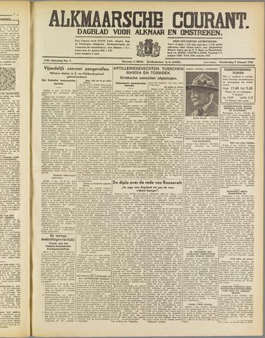 Alkmaarsche Courant 1941-01-09