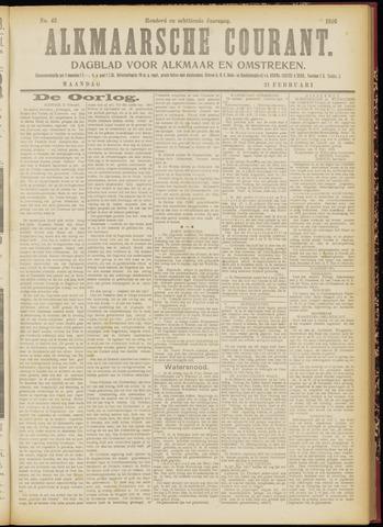 Alkmaarsche Courant 1916-02-21