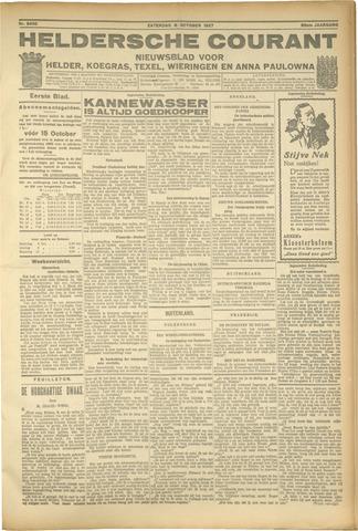 Heldersche Courant 1927-10-08