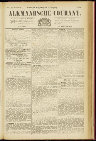 Alkmaarsche Courant 1896-09-20