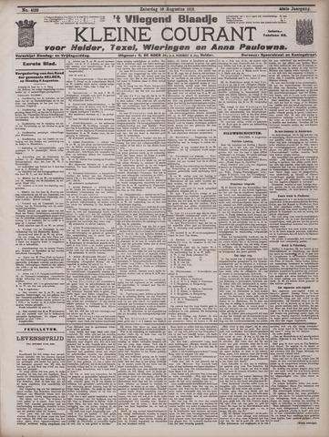 Vliegend blaadje : nieuws- en advertentiebode voor Den Helder 1912-08-10