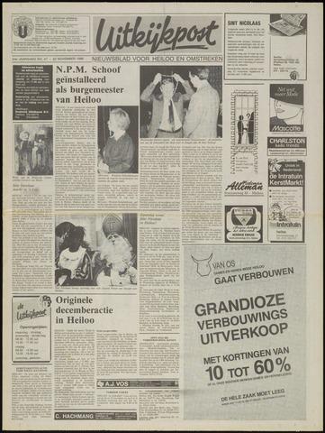 Uitkijkpost : nieuwsblad voor Heiloo e.o. 1989-11-22