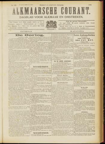 Alkmaarsche Courant 1915-08-28