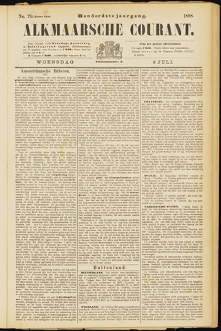 Alkmaarsche Courant 1898-07-06