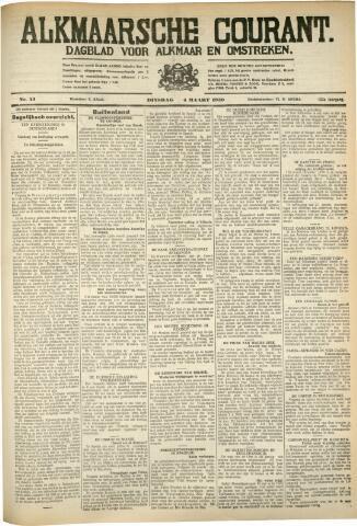 Alkmaarsche Courant 1930-03-04