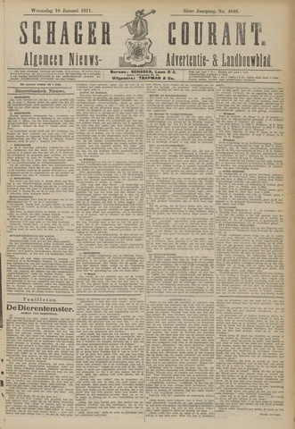 Schager Courant 1911-01-18