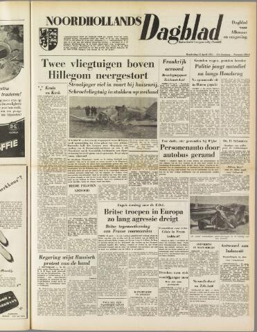 Noordhollands Dagblad : dagblad voor Alkmaar en omgeving 1954-04-15
