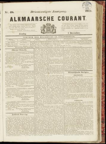 Alkmaarsche Courant 1861-12-01