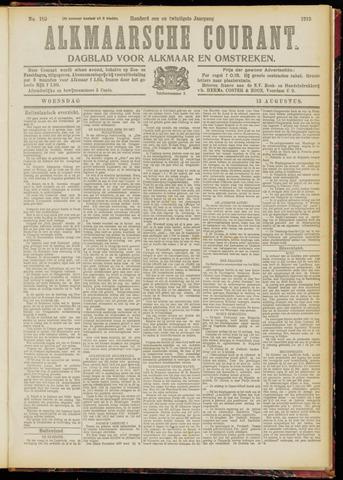 Alkmaarsche Courant 1919-08-13